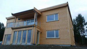 Winges Service AS leverer og oppfører ferdigproduserte hus og hytter