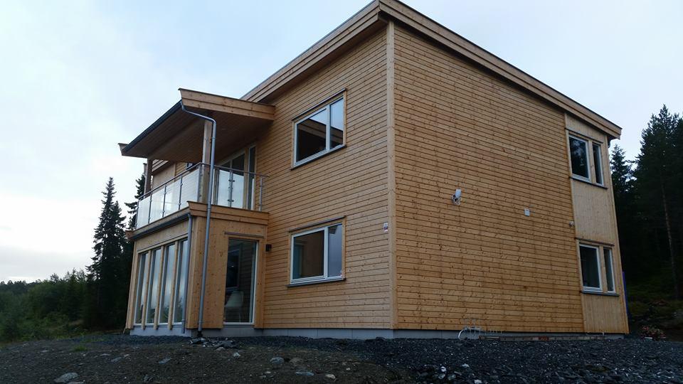 Levering av ferdigproduserte hus og hytter