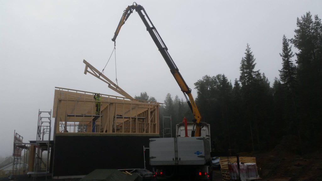 Montering av hus