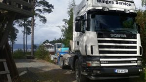 Winges Service transport