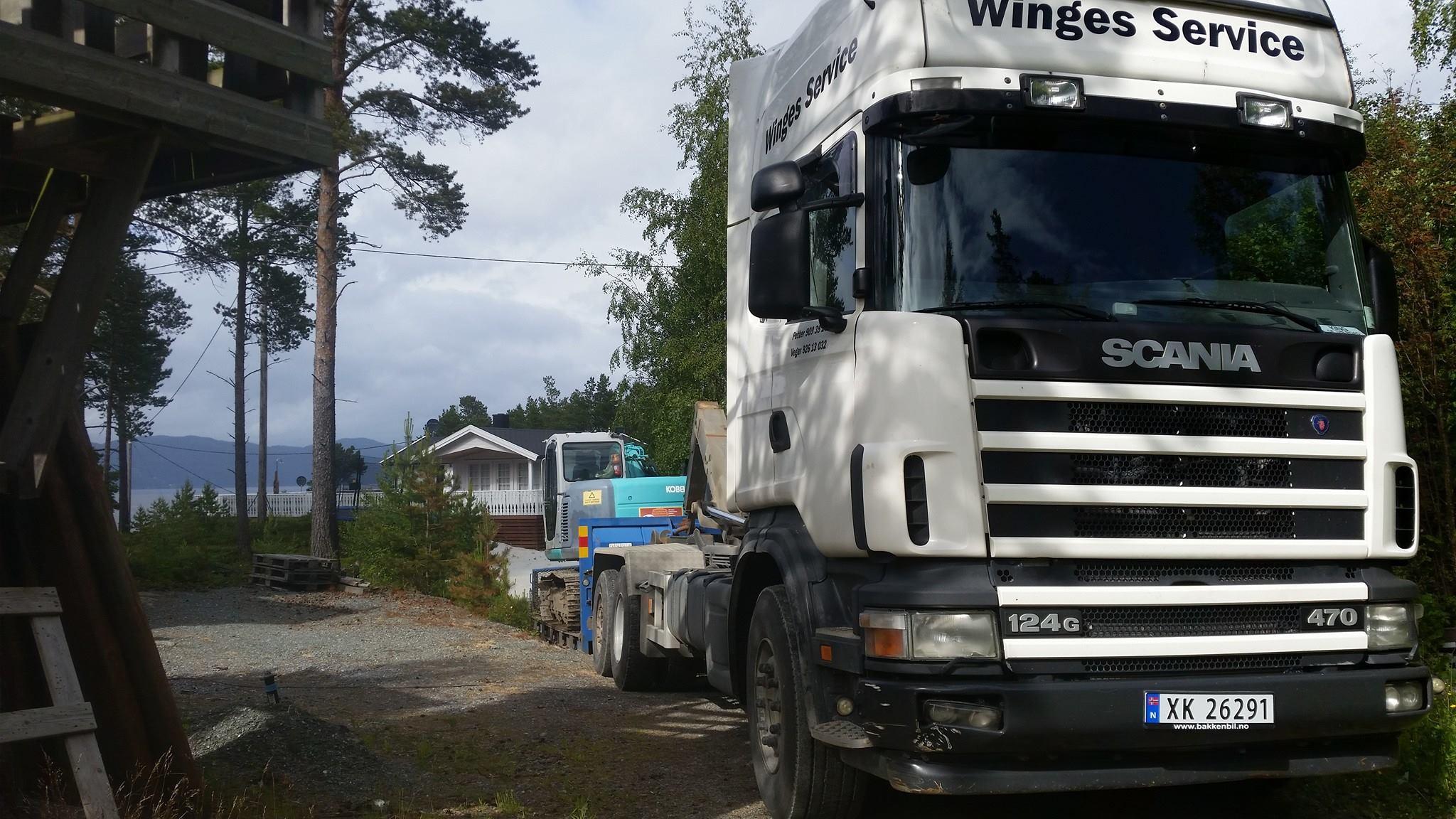 Winges Service transport